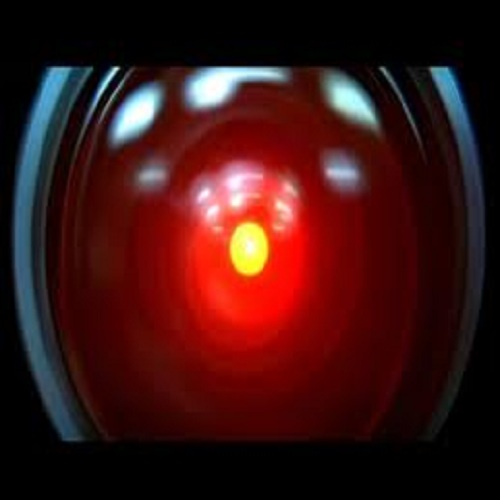 HAL 9000's all seeing eye (2001: A Space Odyssey)