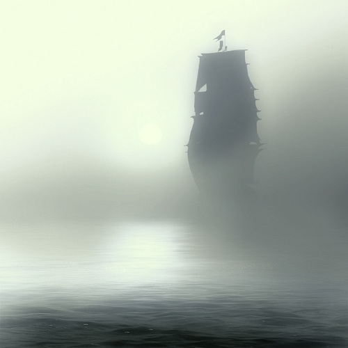 If it's trying to kill you, it's probably  a ghost ship.