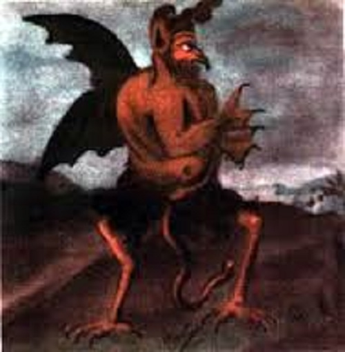 Christoph Haizmann's 5th Portrait of the Devil.