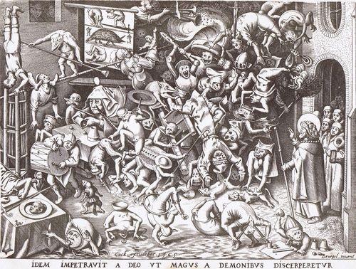 Epilepsy.  St. Vitus' Dance.  Religious mania.  Shaken, not stirred.