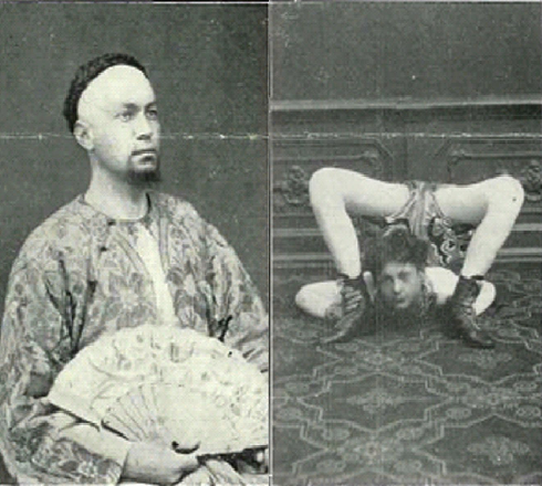 Ling Look (left) and Yamadeva (right).