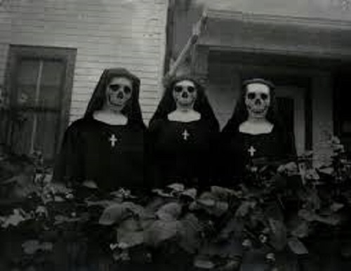 Nuns that bite.