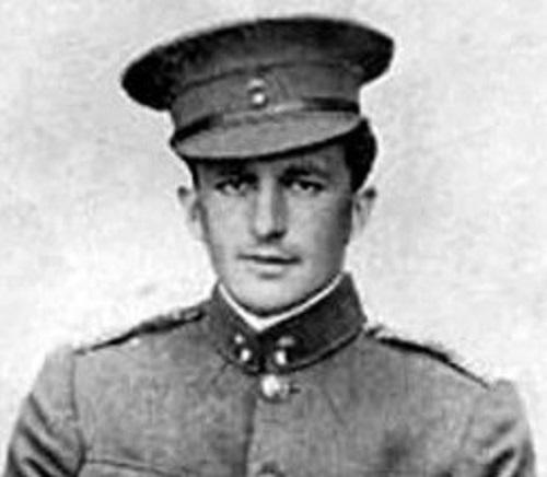 Lt. Desmond Arthur, designated scapeghost.